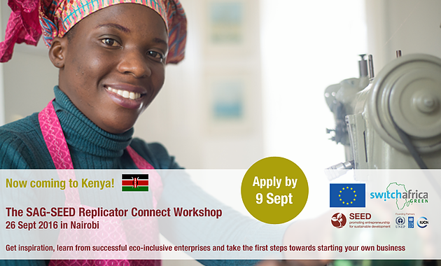 Call For Applications SAG-SEED Replicator Connect Workshop_Kenya