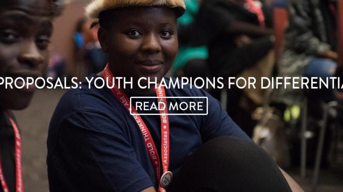 International AIDS Society's Call For Proposals: Youth Champions For Differentiated Care