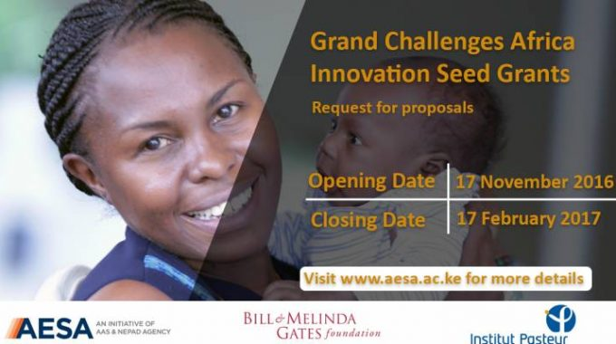 Request For Proposals: Grand Challenges Africa-Innovation Seed Grants
