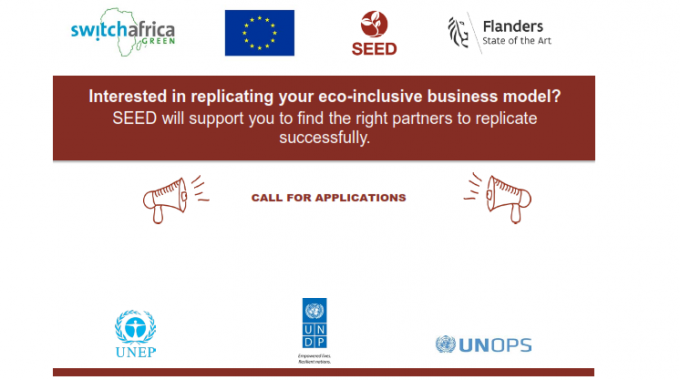 Call For Applications: SEED Replicator Program – Supporting Diffusion Of Proven Eco-Inclusive Business Models