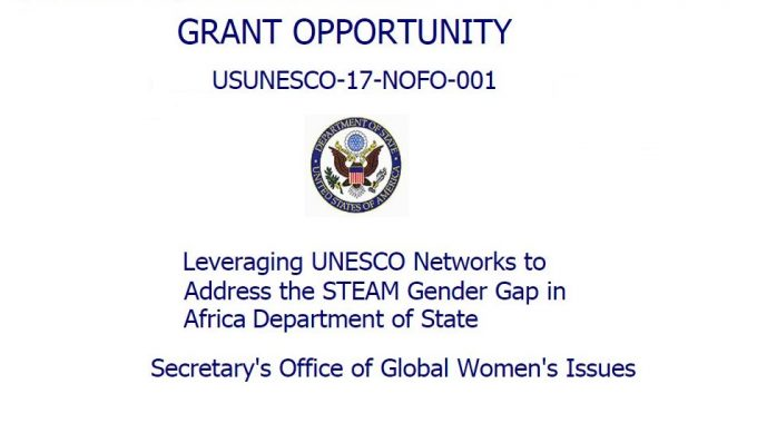 U.S. Mission To UNESCO: Leveraging UNESCO Networks To Address The STEAM Gender Gap In Africa