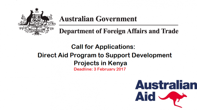 Call For Applications: Direct Aid Program To Support Development Projects
