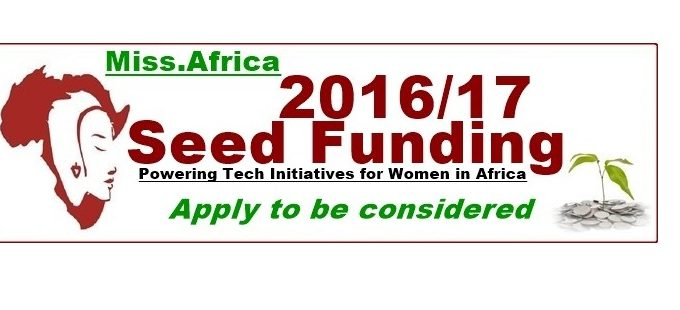 Call For Applications: Miss.Africa Seed Fund For Tech Initiatives For Women In Africa