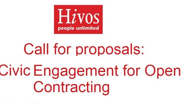 HIVOS & ARTICLE19 Call For Proposals: Civic Engagement For Open Contracting