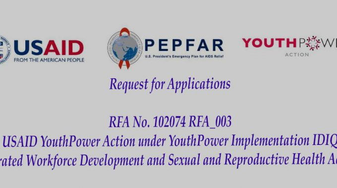 USAID – YouthPower Action: Integrated Workforce Development & SRH Activity