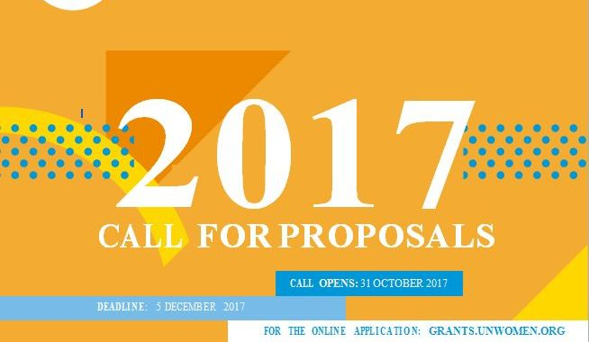Call For Proposals: 2017 UN Trust Fund To End Violence Against Women