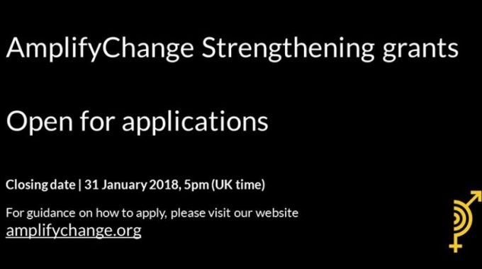 AmplifyChange Strengthening Grants Program: Open For Applications