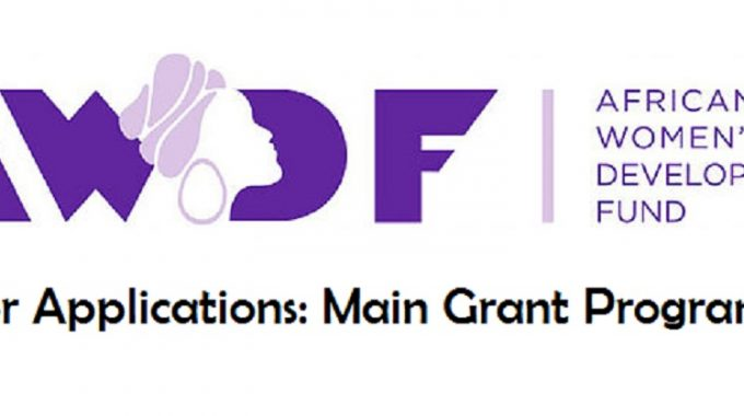 Call For Applications: African Women's Development Fund (AWDF) Main Grant