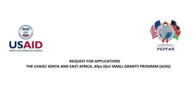Request For Applications: Afya Jijini SMALL GRANTS PROGRAM (AJSG)