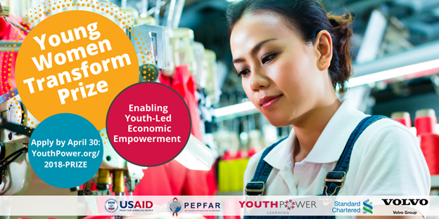 Young Women Transform Prize-ENABLING YOUTH-LED ECONOMIC EMPOWERMENT